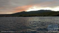 Sun Rising Over Isla Socorro