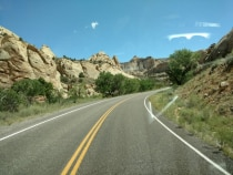 21. FlyBy Through Capitol Reef