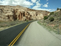 26. FlyBy Through Capitol Reef