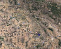 Curve-Billed Thrasher Location Map