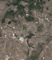 Ferruginous Hawk Location Map