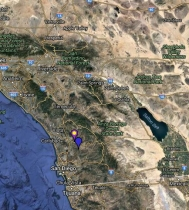 Great-Tailed Grackle Location Map
