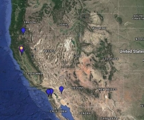 Greater White-Fronted Goose Location Map
