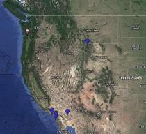 Osprey Location Map