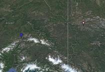 Willow Ptarmigan Location Map
