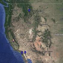 Wilson's Snipe Location Map