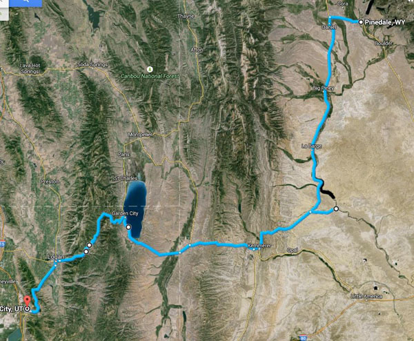 2015-05-13 Drive to Pinedale
