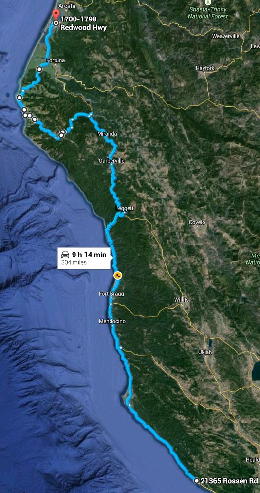 2015-06-15 Eureka to Fort Ross
