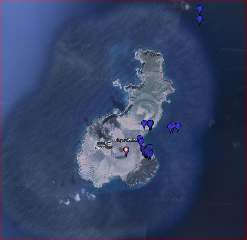 Map - Isla San Benedicto