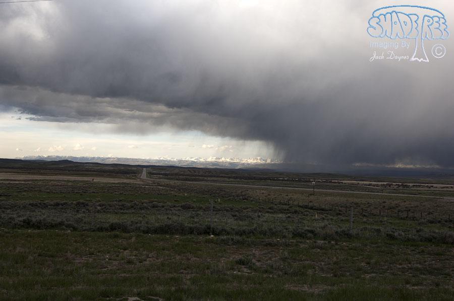 Stormy Prairie Sky - Scenery