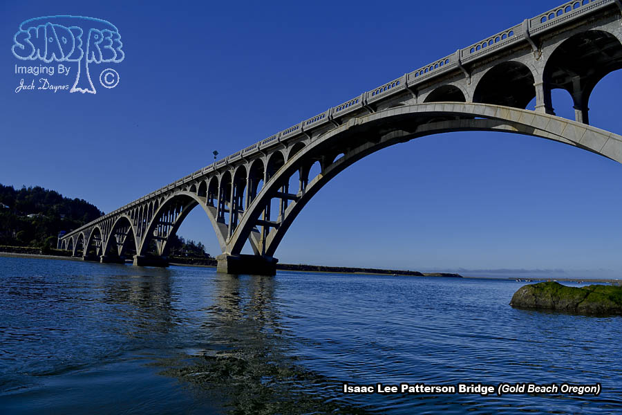 Isaac Lee Patterson Bridge - Scenery