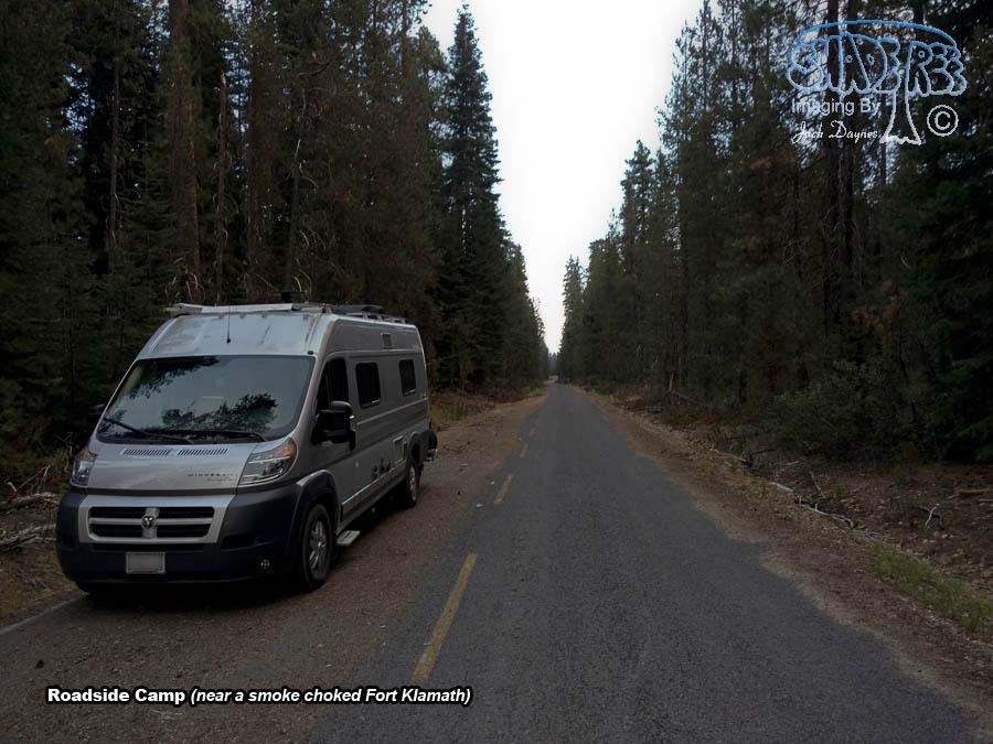 Roadside Camp - Scenery