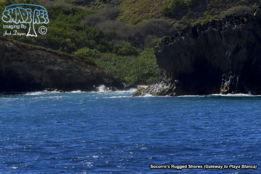Socorro's Rugged Shores - n/a