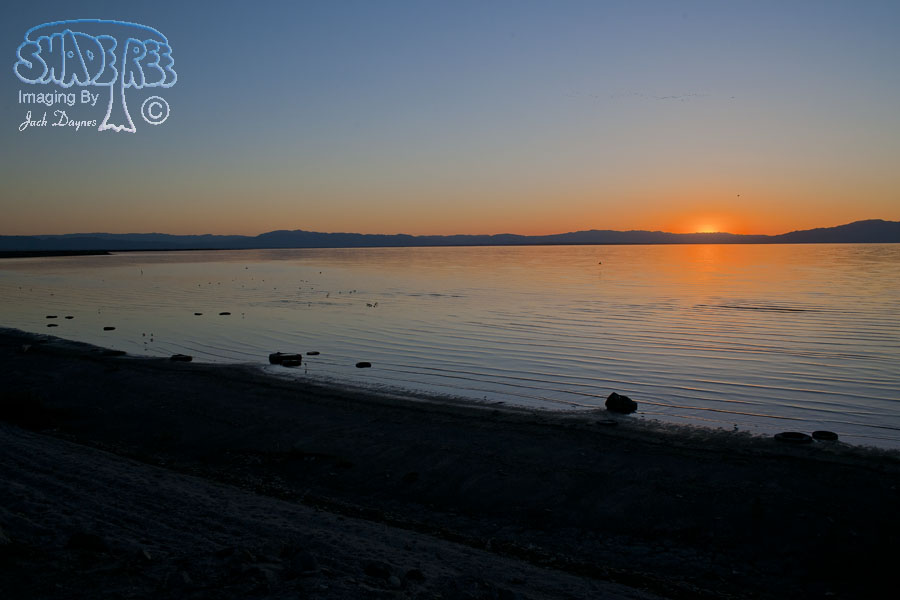 Salton Sea Sunset - n/a