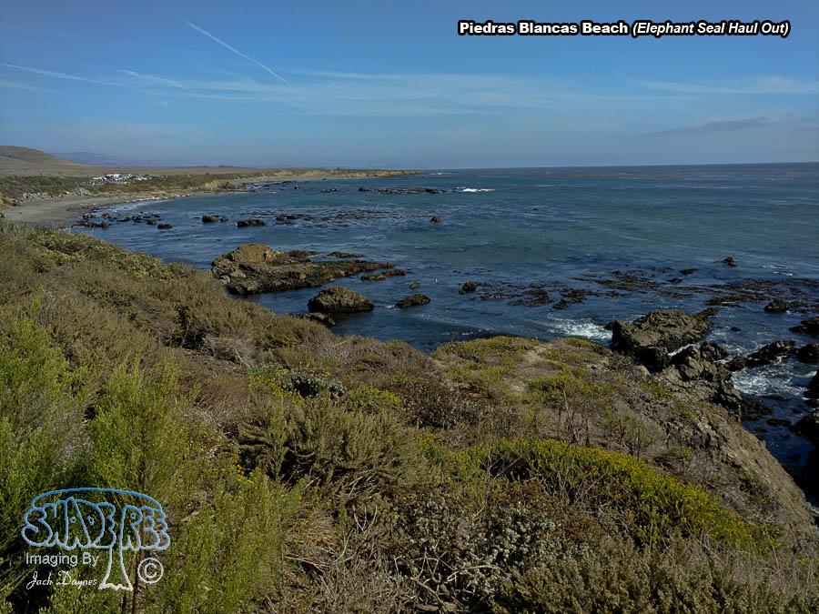 Piedras Blancas Beach - Scenery