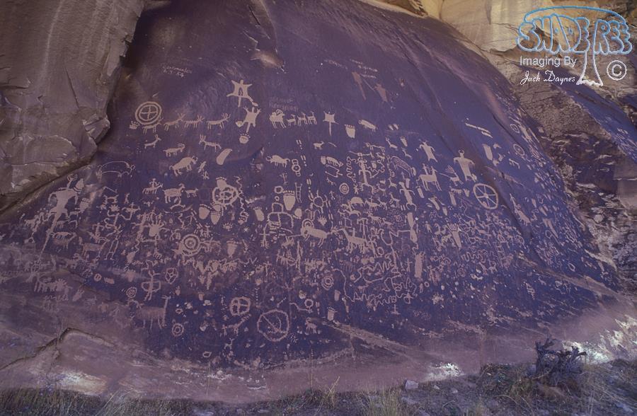 Petroglyphs - Scenery