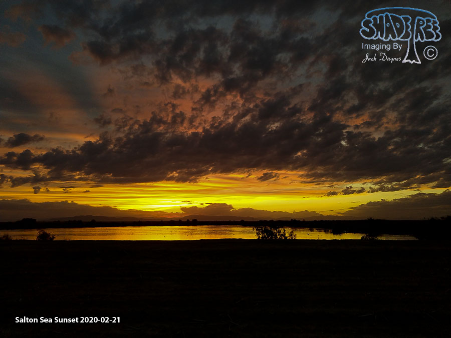 Salton Sea Sunset - Scenery