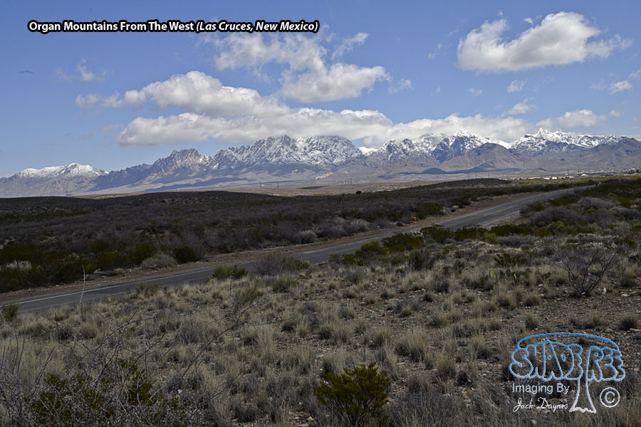 Organ Mountains From The West - Scenery