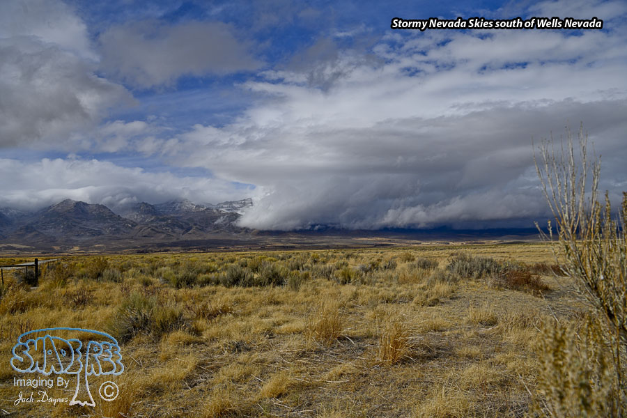 Stormy Nevada Skies - Scenery