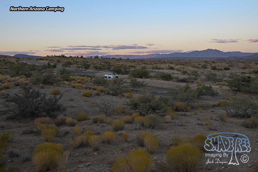 Northern Arizona Camping - Scenery