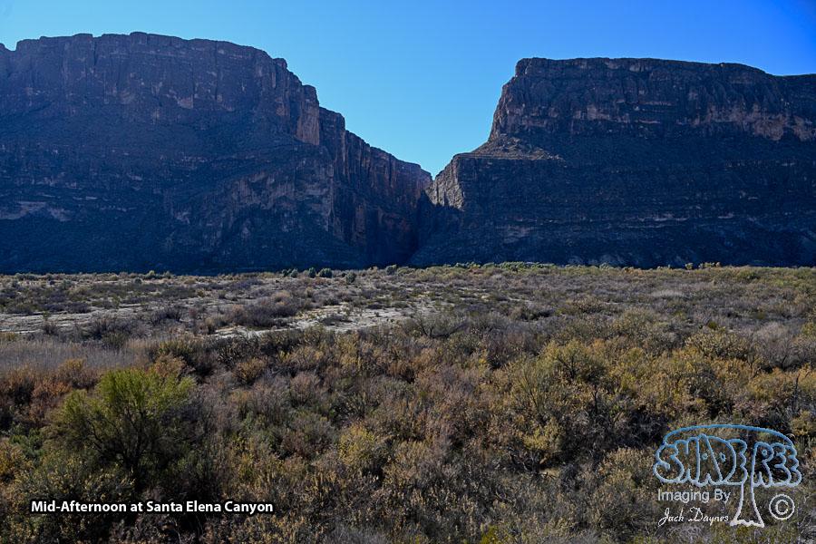 Santa Elena Canyon - Scenery