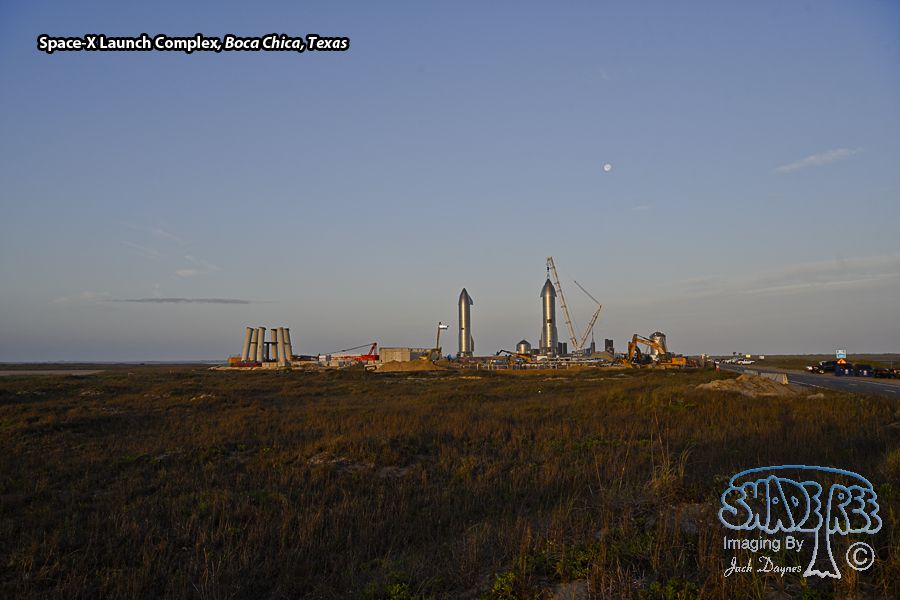 Space-X's Texas Launch Facility - Scenery