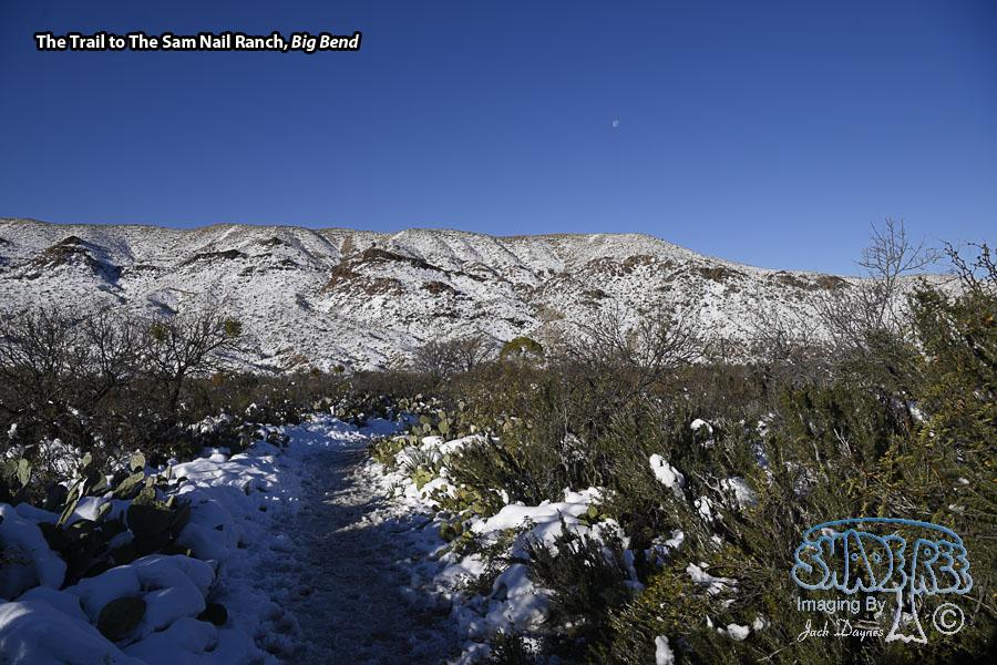 Trail to Sam Nail Ranch - Scenery