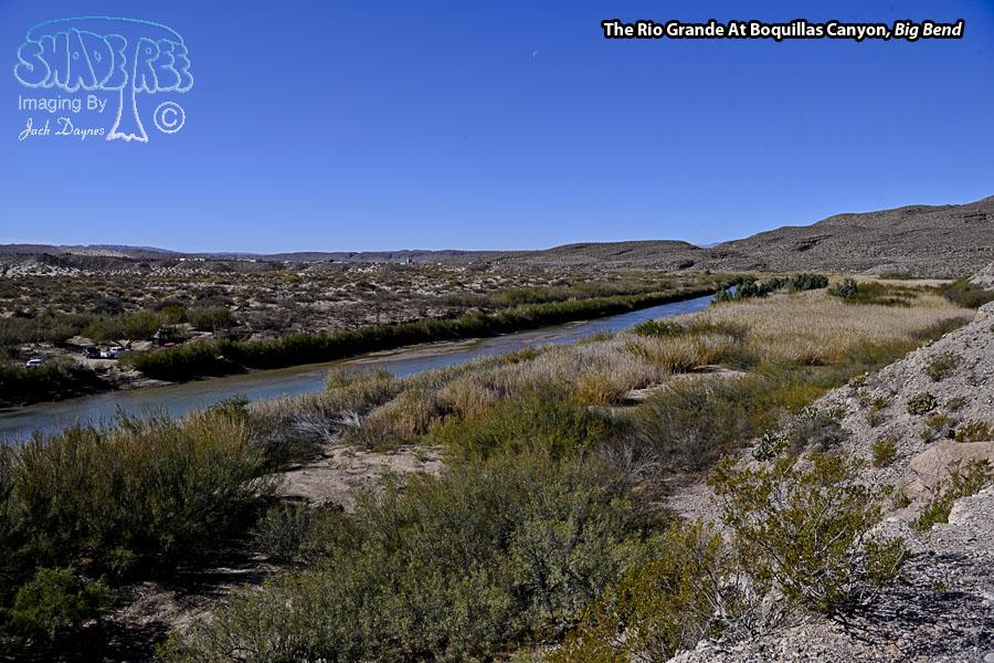 The Rio Grande At Boquillas Canyon. - Scenery