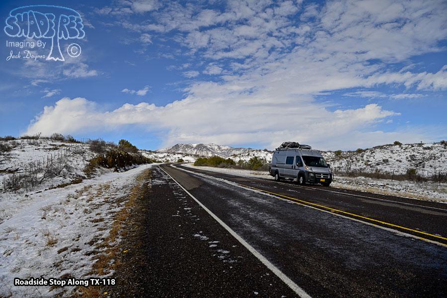 Roadside Stop Along TX-118 - Scenery