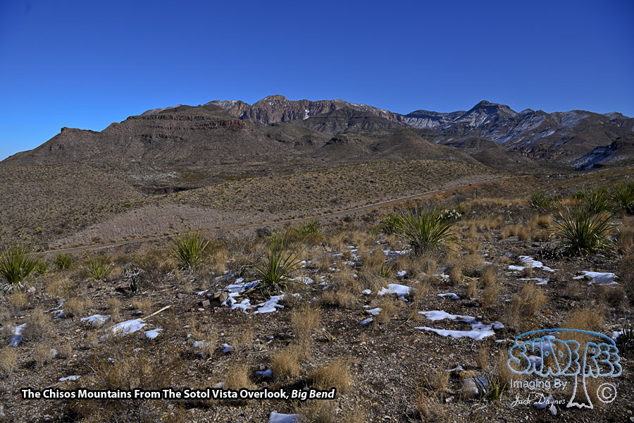 Sotol Vista Overlook - Scenery