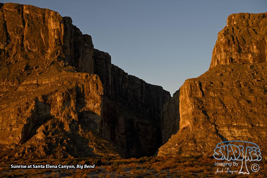 Santa Elena Canyon Sunrise - Scenery
